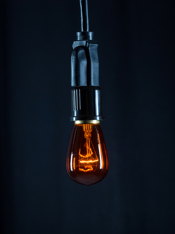 Cafe Bulb Amber Image