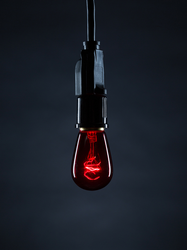 Cafe Bulb Red Image