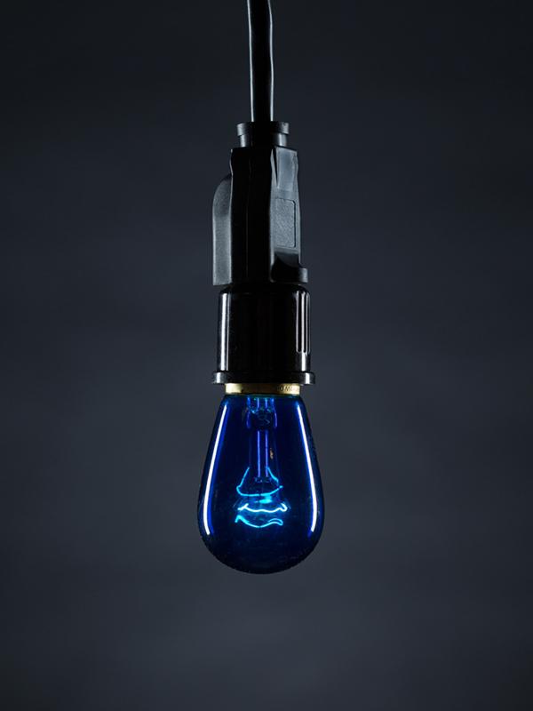 Cafe Bulb Blue Image